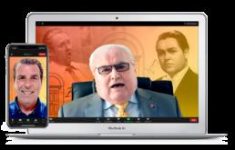 Frank Merrimen Edwin Williamson Zoom Virtual Voice Assessment Singing Lessons