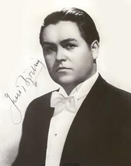 Jussi Bjorling signature